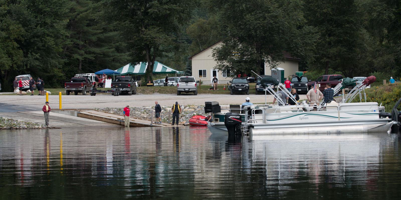 Androscoggin Sprint-boat-launch